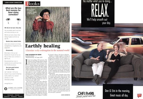 Article Preview: Earthly healing, October 1998 | Maclean's