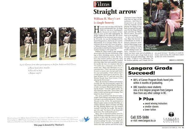 Article Preview: Straight arrow, October 1998 | Maclean's