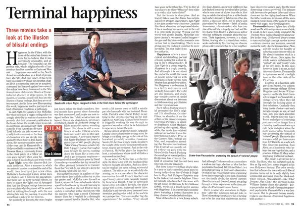 Article Preview: Terminal happiness, October 1998 | Maclean's