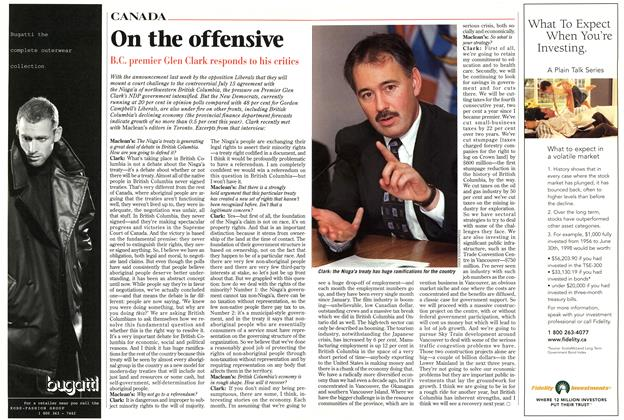Article Preview: On the offensive, November 1998 | Maclean's
