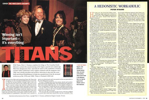 Article Preview: TITANS, November 1998 | Maclean's