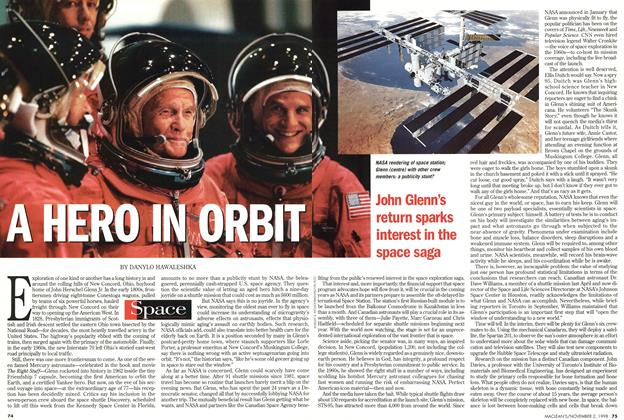 Article Preview: A HERO IN ORBIT, November 1998 | Maclean's