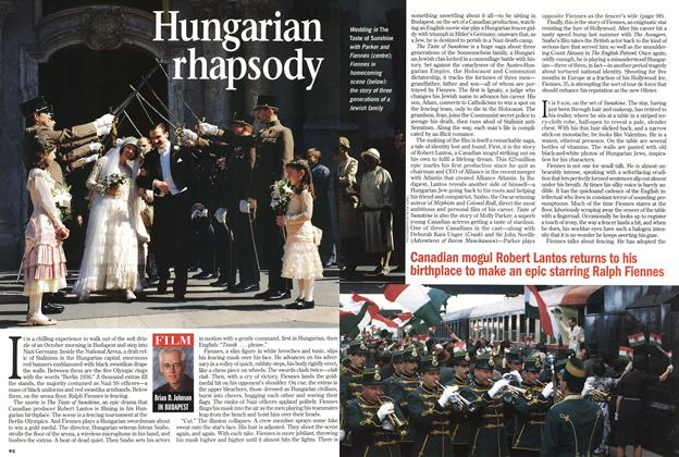 Article Preview: Hungarian rhapsody, November 1998 | Maclean's
