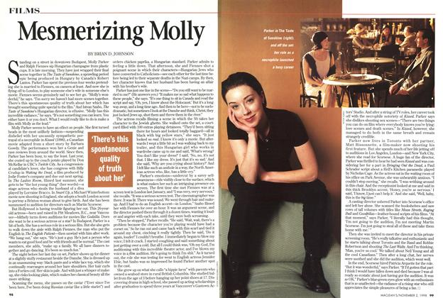 Article Preview: Mesmerizing Molly, November 1998 | Maclean's