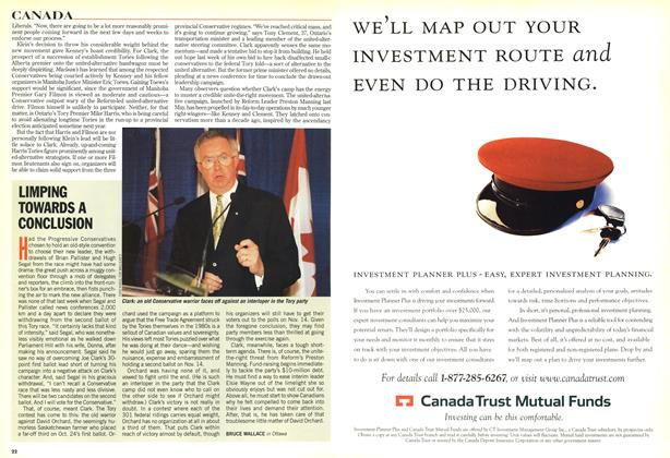 Article Preview: LIMPING TOWARDS A CONCLUSION, November 1998 | Maclean's