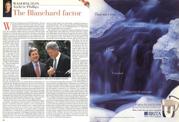 Article Preview: The Blanchard factor, November 1998 | Maclean's