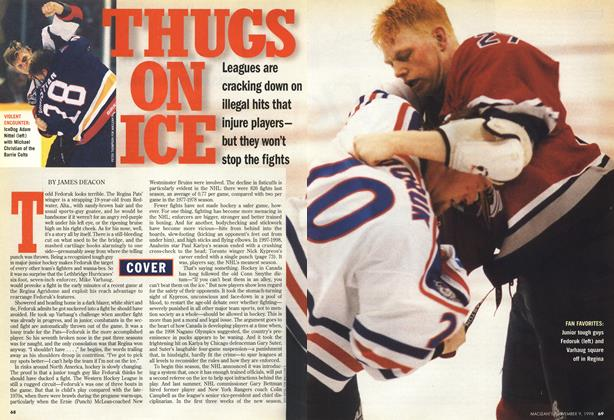 Article Preview: THUGS ON ICE, November 1998 | Maclean's