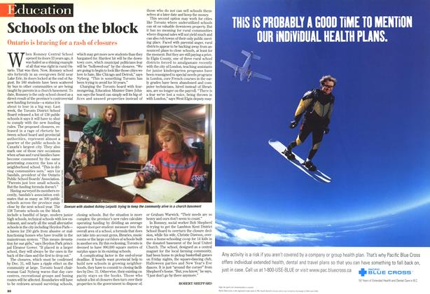 Article Preview: Schools on the block, November 1998 | Maclean's