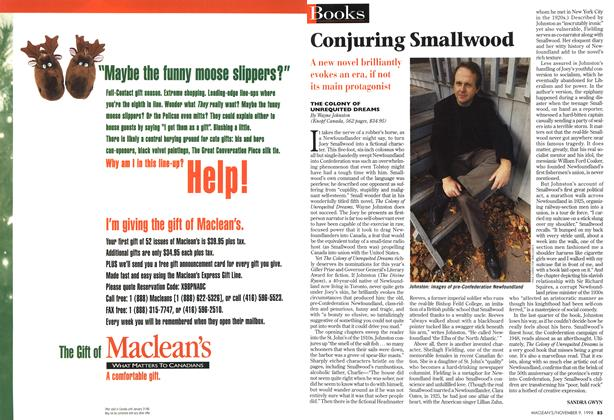 Article Preview: Conjuring Smallwood, November 1998 | Maclean's
