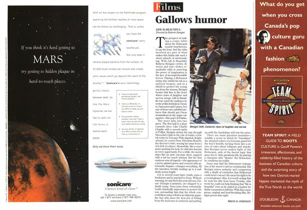 Article Preview: Gallows humor, November 1998 | Maclean's