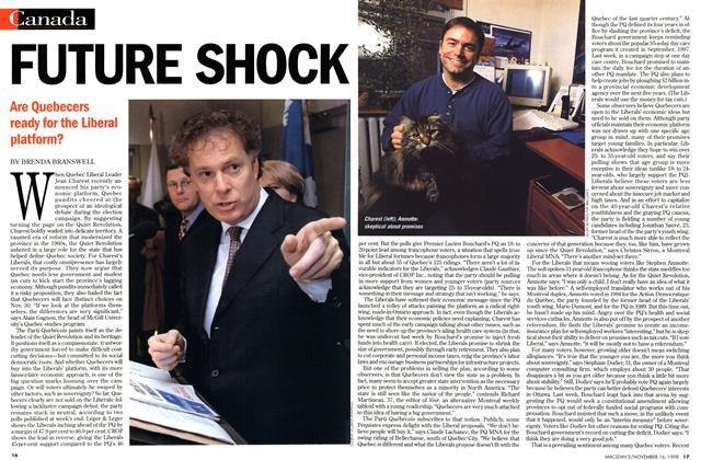 Article Preview: FUTURE SHOCK, November 1998 | Maclean's