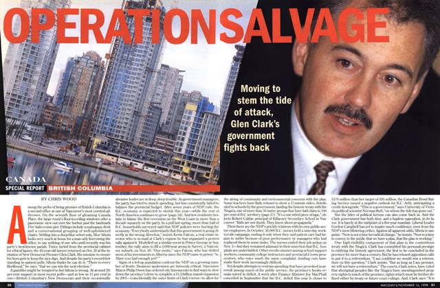 Article Preview: OPERATION SALVAGE, November 1998 | Maclean's