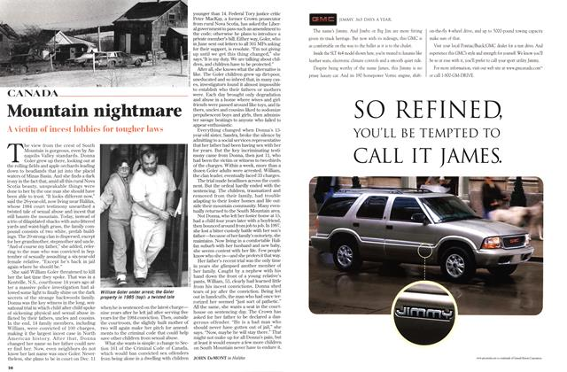 Article Preview: Mountain nightmare, November 1998 | Maclean's