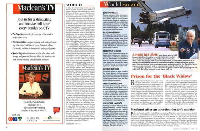 Article Preview: World NOTES, November 1998 | Maclean's