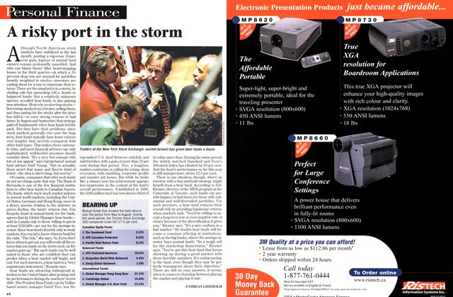 Article Preview: A risky port in the storm, November 1998 | Maclean's