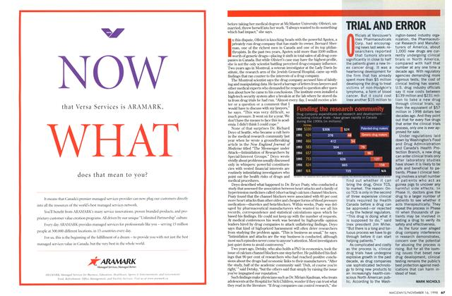 Article Preview: TRIAL AND ERROR, November 1998 | Maclean's