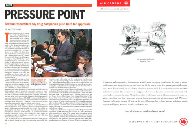 Article Preview: PRESSURE POINT, November 1998 | Maclean's