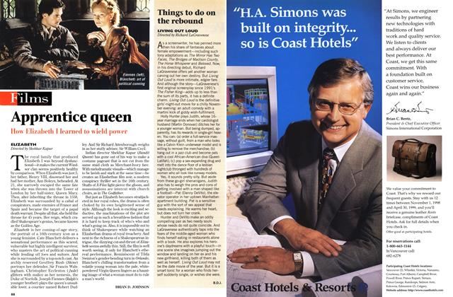 Article Preview: Apprentice queen, November 1998 | Maclean's
