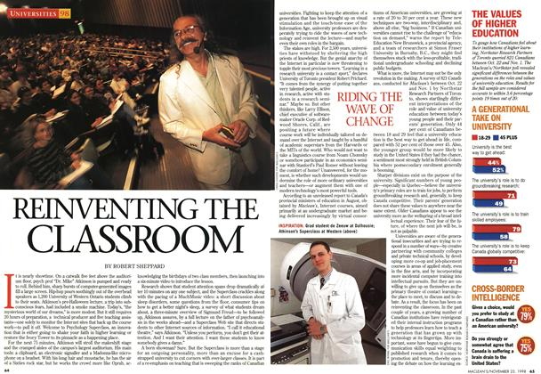 Article Preview: REINVENTING THE CLASSROOM, November 1998 | Maclean's
