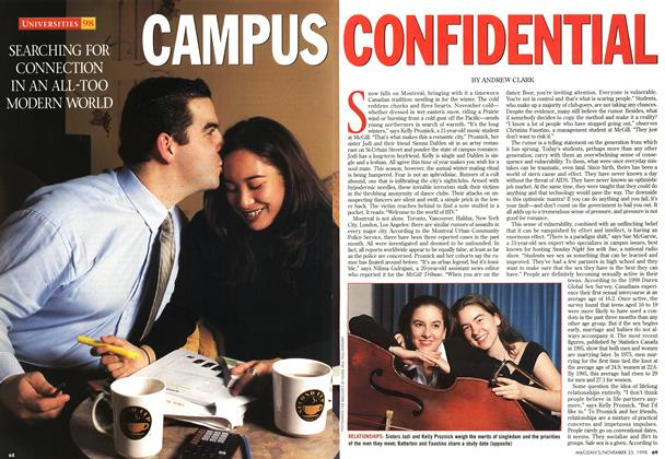 Article Preview: CAMPUS CONFIDENTIAL, November 1998 | Maclean's