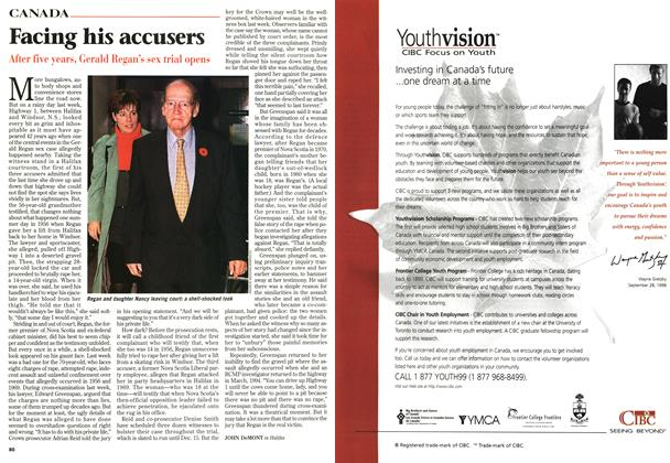 Article Preview: Facing his accusers, November 1998 | Maclean's