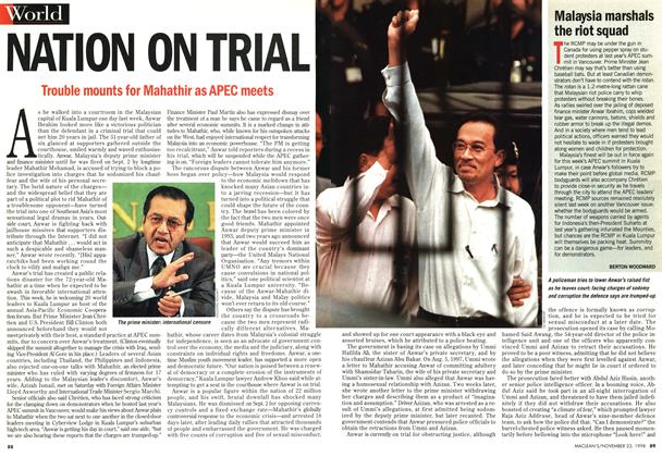 Article Preview: NATION ON TRIAL, November 1998 | Maclean's