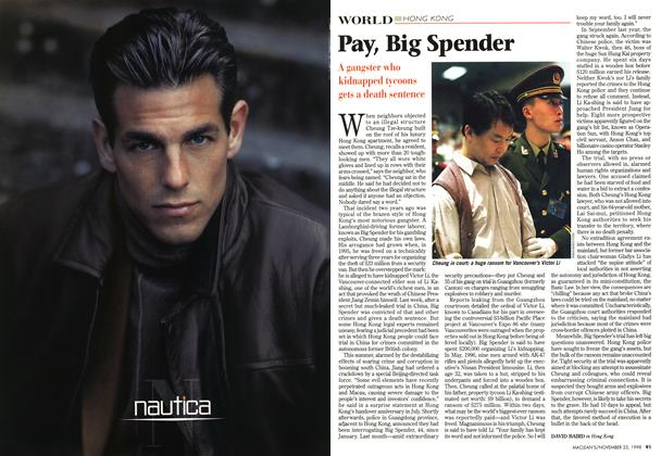 Article Preview: Pay, Big Spender, November 1998 | Maclean's