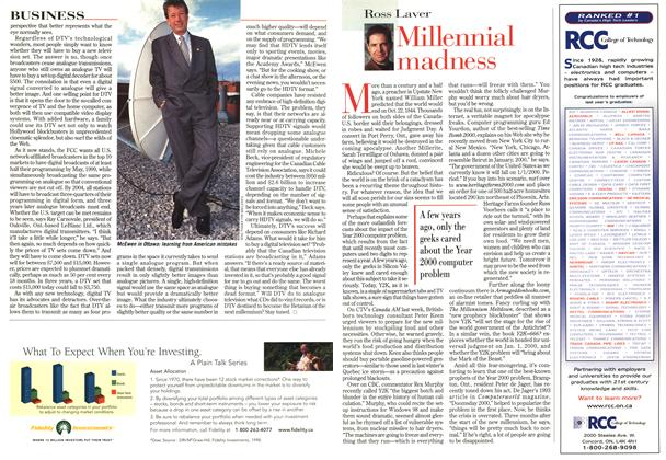 Article Preview: Millennial madness, November 1998 | Maclean's