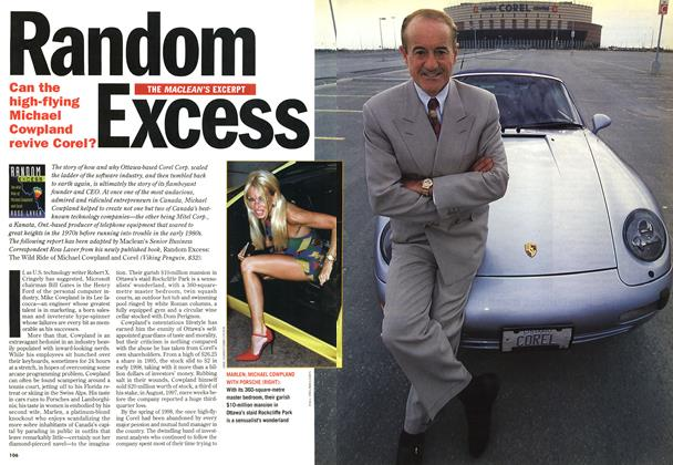 Article Preview: Random Excess, November 1998 | Maclean's