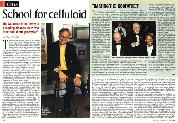 Article Preview: School for celluloid, November 1998 | Maclean's