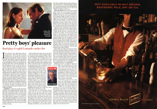 Article Preview: Pretty boys' pleasure, November 1998 | Maclean's