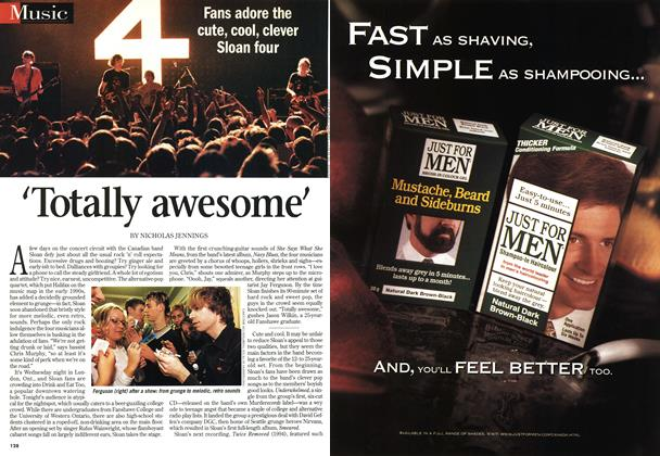 Article Preview: Totally awesome', November 1998 | Maclean's