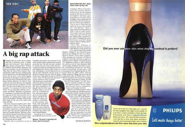 Article Preview: A big rap attack, November 1998 | Maclean's