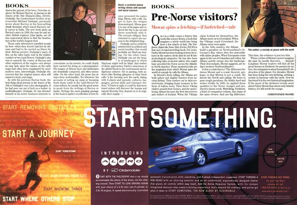 Article Preview: Pre-Norse visitors?, November 1998 | Maclean's