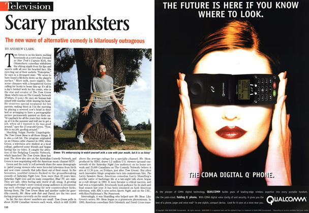 Article Preview: Scary pranksters, November 1998 | Maclean's