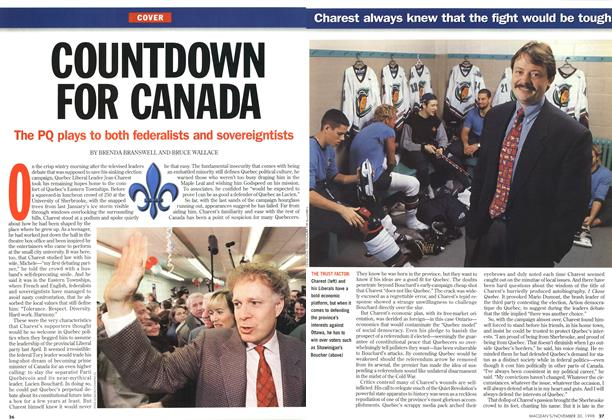 Article Preview: COUNTDOWN FOR CANADA, November 1998 | Maclean's