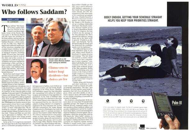 Article Preview: Who follows Saddam?, November 1998 | Maclean's
