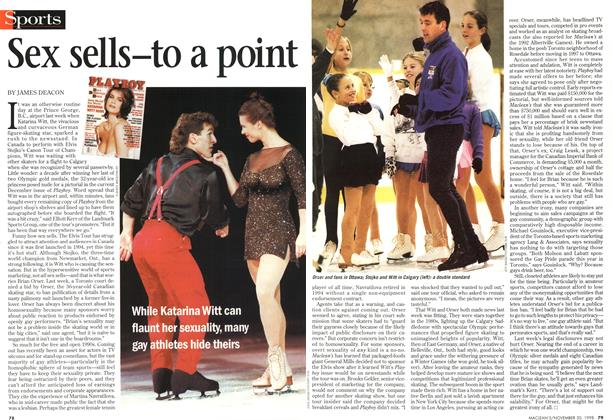 Article Preview: Sex sells—to a point, November 1998 | Maclean's