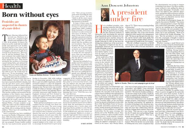 Article Preview: A president under fire, November 1998 | Maclean's
