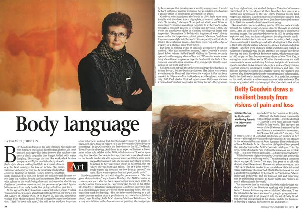 Article Preview: Body language, November 1998 | Maclean's