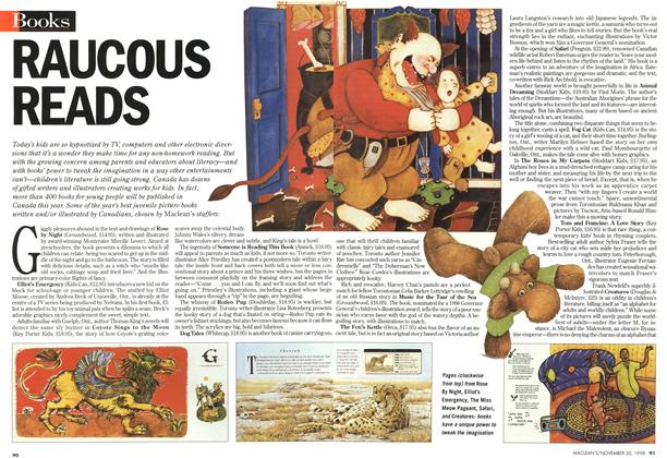 Article Preview: RAUCOUS READS, November 1998 | Maclean's