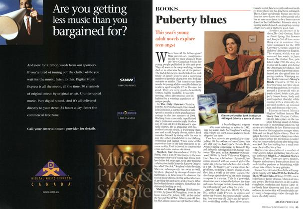 Article Preview: Puberty blues, November 1998 | Maclean's