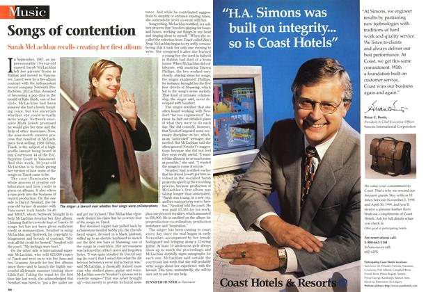 Article Preview: Songs of contention, November 1998 | Maclean's