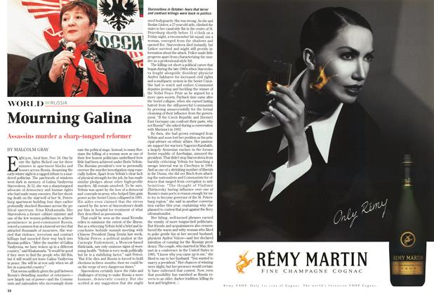 Article Preview: Mourning Galina, December 1998 | Maclean's