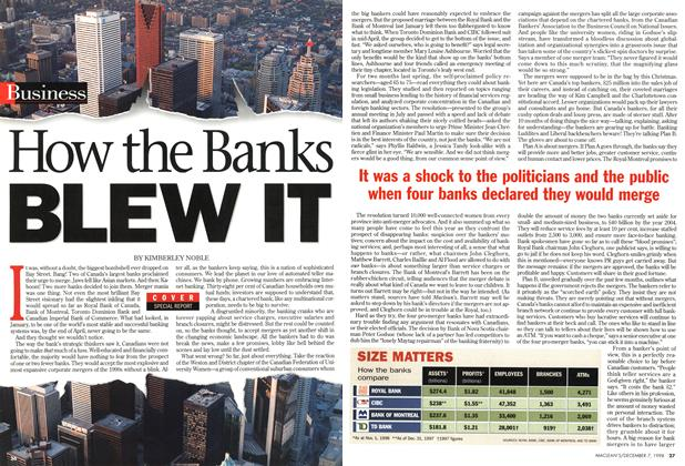 Article Preview: How the Banks BLEW IT, December 1998 | Maclean's
