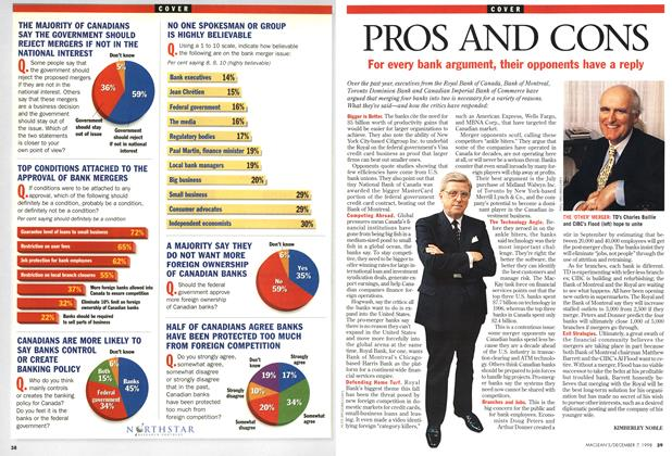 Article Preview: PROS AND CONS, December 1998 | Maclean's
