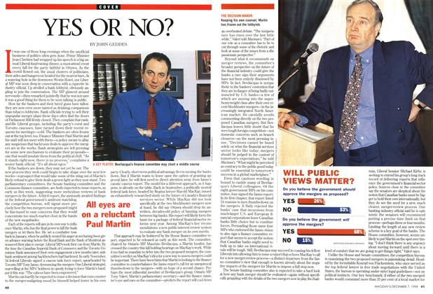 Article Preview: YES OR NO?, December 1998 | Maclean's