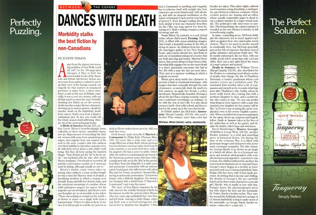 Article Preview: DANCES WITH DEATH, December 1998 | Maclean's