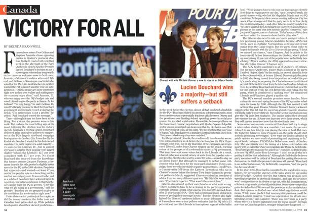 Article Preview: VICTORY FOR ALL, DECEMBER 14 1998 | Maclean's