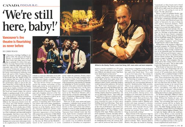 Article Preview: 'We're still here, baby!', DECEMBER 14 1998 | Maclean's